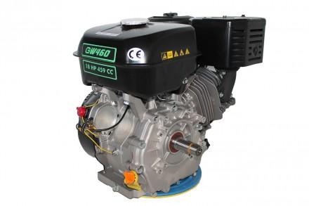 Двигатель бензиновый GrunWelt GW460F-S (18 л.с., шпонка) Grunwelt GW 460F-S - мо. Киев, Киевская область. фото 10