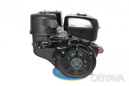 Двигатель бензиновый GrunWelt GW460F-S (18 л.с., шпонка) Grunwelt GW 460F-S - мо. Киев, Киевская область. фото 1