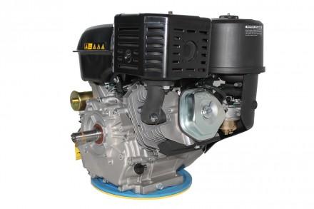 Двигатель бензиновый GrunWelt GW460FE-S (18 л.с., шпонка) Grunwelt GW460FE-S - м. Киев, Киевская область. фото 4