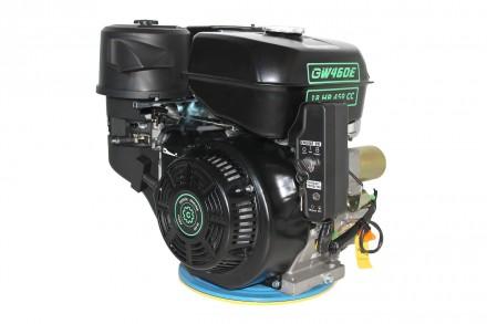 Двигатель бензиновый GrunWelt GW460FE-S (18 л.с., шпонка) Grunwelt GW460FE-S - м. Киев, Киевская область. фото 11