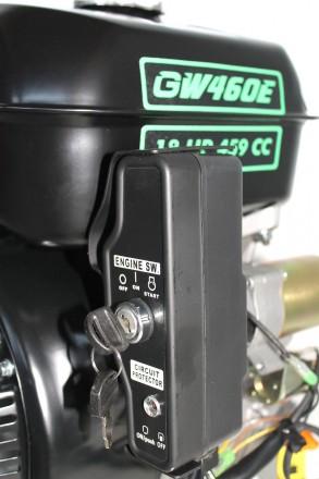 Двигатель бензиновый GrunWelt GW460FE-S (18 л.с., шпонка) Grunwelt GW460FE-S - м. Киев, Киевская область. фото 8