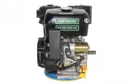 Двигатель бензиновый GrunWelt GW460FE-S (18 л.с., шпонка) Grunwelt GW460FE-S - м. Киев, Киевская область. фото 3