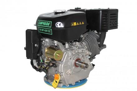 Двигатель бензиновый GrunWelt GW460FE-S (18 л.с., шпонка) Grunwelt GW460FE-S - м. Киев, Киевская область. фото 5