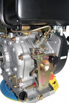 Двигатель дизельный GrunWelt GW186FВ (9,5 л.с., шпонка) GrunWelt GW186FВ - дизел. Киев, Киевская область. фото 11