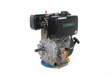 Двигатель дизельный GrunWelt GW186FВ (9,5 л.с., шпонка) GrunWelt GW186FВ - дизел. Киев, Киевская область. фото 6