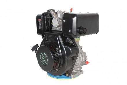 Двигатель дизельный GrunWelt GW186FВ (9,5 л.с., шпонка) GrunWelt GW186FВ - дизел. Киев, Киевская область. фото 2