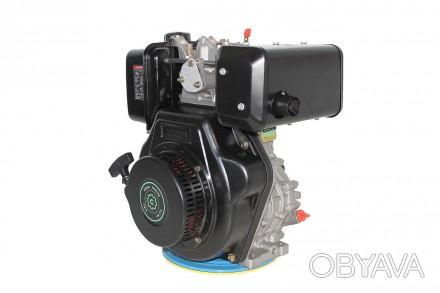 Двигатель дизельный GrunWelt GW186FВ (9,5 л.с., шпонка) GrunWelt GW186FВ - дизел. Киев, Киевская область. фото 1
