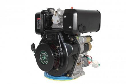 Двигатель дизельный GrunWelt GW186FВE (9,5 л.с., шлицы) GrunWelt GW186FВE - дизе. Киев, Киевская область. фото 2