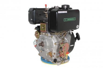 Двигатель дизельный GrunWelt GW186FВE (9,5 л.с., шлицы) GrunWelt GW186FВE - дизе. Киев, Киевская область. фото 7