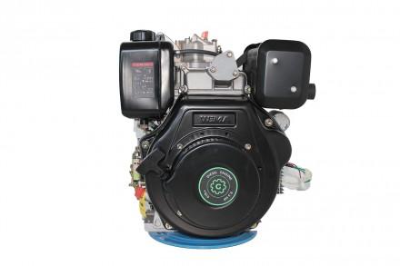 Двигатель дизельный GrunWelt GW186FВE (9,5 л.с., шлицы) GrunWelt GW186FВE - дизе. Киев, Киевская область. фото 5