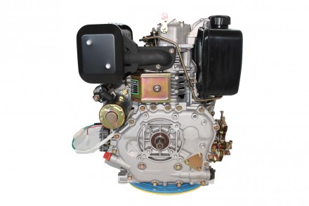 Двигатель дизельный GrunWelt GW186FВE (9,5 л.с., шлицы) GrunWelt GW186FВE - дизе. Киев, Киевская область. фото 6