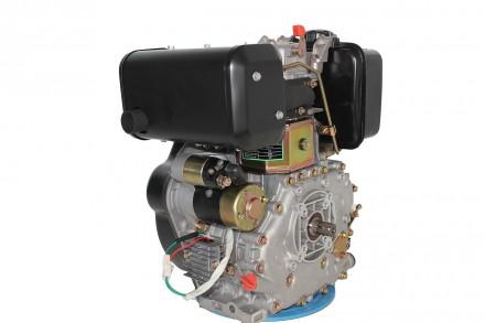 Двигатель дизельный GrunWelt GW186FВE (9,5 л.с., шлицы) GrunWelt GW186FВE - дизе. Киев, Киевская область. фото 4