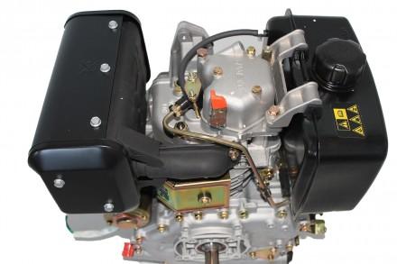 Двигатель дизельный GrunWelt GW186FВE (9,5 л.с., шлицы) GrunWelt GW186FВE - дизе. Киев, Киевская область. фото 8