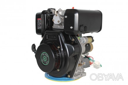 Двигатель дизельный GrunWelt GW186FВE (9,5 л.с., шлицы) GrunWelt GW186FВE - дизе. Киев, Киевская область. фото 1