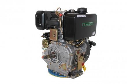 Двигатель дизельный GrunWelt GW192FE (14 л.с., шпонка) GrunWelt GW192FE - дизель. Киев, Киевская область. фото 3