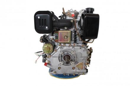Двигатель дизельный GrunWelt GW192FE (14 л.с., шпонка) GrunWelt GW192FE - дизель. Киев, Киевская область. фото 8