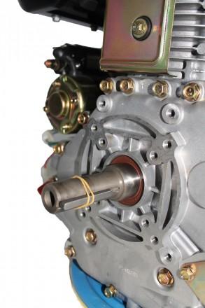 Двигатель дизельный GrunWelt GW192FE (14 л.с., шпонка) GrunWelt GW192FE - дизель. Киев, Киевская область. фото 10