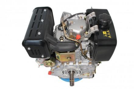 Двигатель дизельный GrunWelt GW192FE (14 л.с., шпонка) GrunWelt GW192FE - дизель. Киев, Киевская область. фото 7