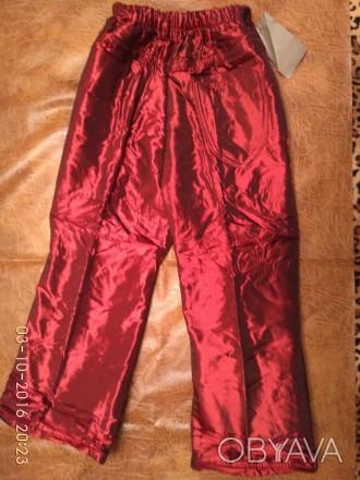 Теплые но легкие штаны, брюки на девочку. 3 шт  Размер: Длина Резинка  22 р. 5. Полтава, Полтавская область. фото 1