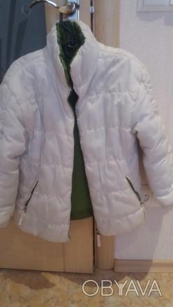 Продам деми куртку Mariquita на девочку,р.122,б/у,в очень хорошем состоянии,бела. Чернігів, Чернігівська область. фото 1
