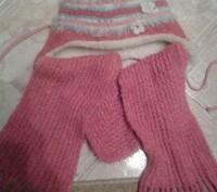 Комплект шапочка и шарфик. Чернигов. фото 1