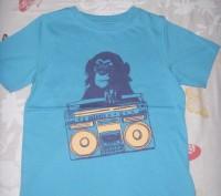 Новая, стильная футболка Mothercare.На возраст 4-5 года.На рост 110 см. 100% хло. Киев, Киевская область. фото 2