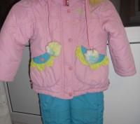Комбинезон рассчитан на рост 104-110см.  Длина курточки 45см,длина рукава от пл. Запоріжжя, Запорізька область. фото 2