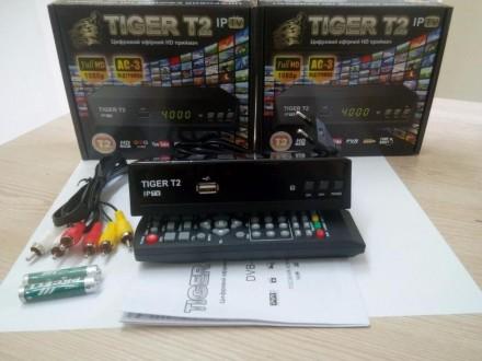 Тюнеры TIGER +YOUTUBE+IPTV. Кривой Рог. фото 1