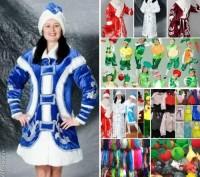 Карнавальные,маскарадные костюмы,маски,шляпы,овощи,звери,сказочные персонажи.. Херсон. фото 1