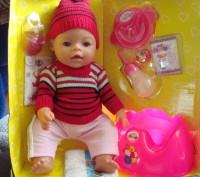 Кукла полностью механическая, без батареек, ее можно смело купать. выполняемые . Черкассы, Черкасская область. фото 3