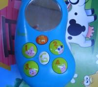 Продам интерактивный детский телефон ФЕРМА-ФОН Телефончик достаточно крупный и . Черкассы, Черкасская область. фото 2