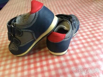 """Кроссовки на мальчика, фирмы """"Шалунишка"""",полностью кожаные.(покупались за 450грн. Запорожье, Запорожская область. фото 1"""