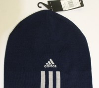Шапка Adidas Essentials 3 Stripes Beanie оригинал. Сумы. фото 1