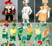 Детские карнавальные костюмы только новые от 170грн(гномики)от 195грн(овощи,фрук. Полтава, Полтавська область. фото 2