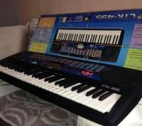 Продам синтезатор Casio CTK-495. Днепр. фото 1