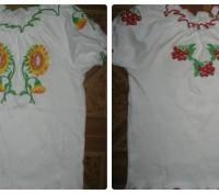 Блуза вышиванка. 100% хлопок. Производство Украина. г. Комсомольск.  р. 52 (80. Черкассы, Черкасская область. фото 8