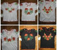 Блуза вышиванка. р. 80-134.. Черкассы. фото 1