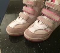 Ботинки на девочку Geox,в хорошем состоянии,носили пару месяцев. Киев, Киевская область. фото 2