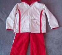 Костюм демисезонный- двухсторонняя куртка на флисе и брюки. Светловодск. фото 1