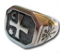 Перстень «КОЗАЦЬКИЙ». Запорожье. фото 1