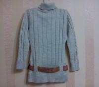 свитер -туника очень мягкий, машинной вязки, удобен и красив на девочке, ниже по. Енергодар, Запорізька область. фото 3