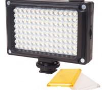 Видеосвет 112 LED панель накамерный свет. Лучший от 4-х АА, яркий !. Одесса. фото 1