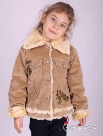 Куртка демисезонная . Есть размер 116  На фото замеры 116 размера. Подкладка фли. Бердичев, Житомирская область. фото 1