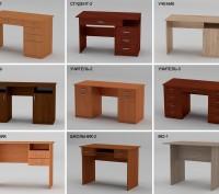 Столы письменные. Разные цвета и модели. Новые со склада.. Киев. фото 1