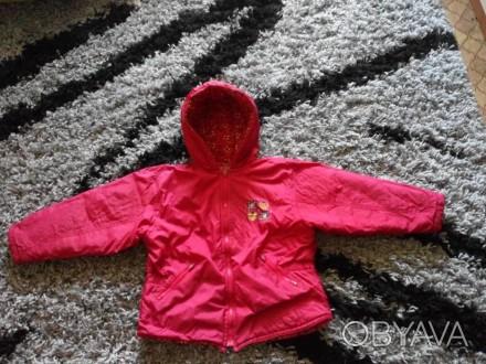 Продаётся куртка на осень (весну), утеплена флисом, отличного качества, производ. Кривой Рог, Днепропетровская область. фото 1