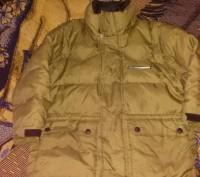 Куртка на осень-зима,  цвета хаки ( рукава отстегиваются показано на фото) , в о. Киев, Киевская область. фото 3