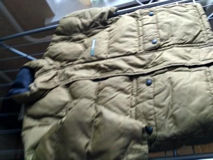 Куртка на осень-зима,  цвета хаки ( рукава отстегиваются показано на фото) , в о. Киев, Киевская область. фото 2