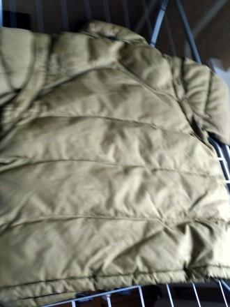 Куртка на осень-зима,  цвета хаки ( рукава отстегиваются показано на фото) , в о. Киев, Киевская область. фото 8