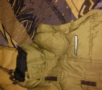 Куртка на осень-зима,  цвета хаки ( рукава отстегиваются показано на фото) , в о. Киев, Киевская область. фото 7