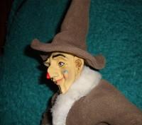 Продам игрушку Клоун. 50 см. Тело мягконабивное. Руки и голова фарфоровые. 500гр. Днепр, Днепропетровская область. фото 3